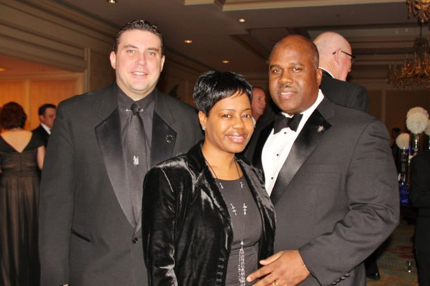 Mike McMillan, Michelle and Kennard Tucker