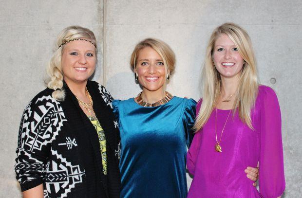Maggie Johnson, Emily Iovaldi, Amanda Schmidt