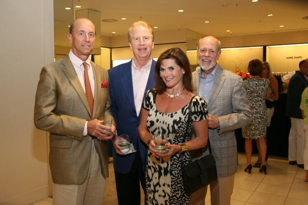 Bob Hermann, Bryan Cook, Andrea and Craig LaBarge