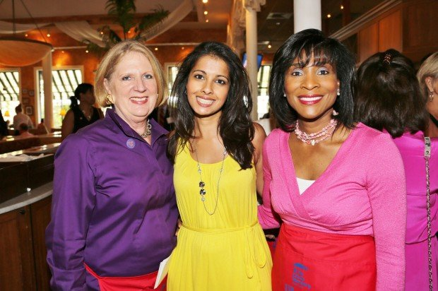 Susan Block, Jasmine Huda, Shirley Washington