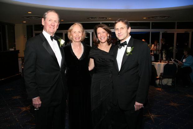 John and Ellen Wallace, Lisa and Dugie Baron