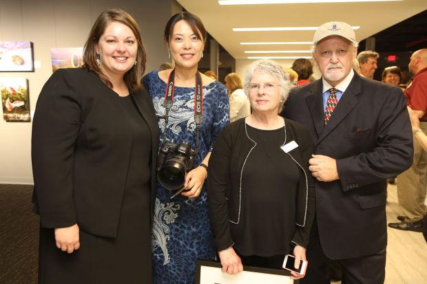 Board member Kathy Bradley, He Jian Ping, Rosemary Nagel, Tim Hermann