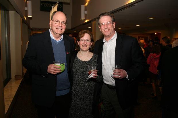 Steve Schlansky, Gail and Hershey Feldstein