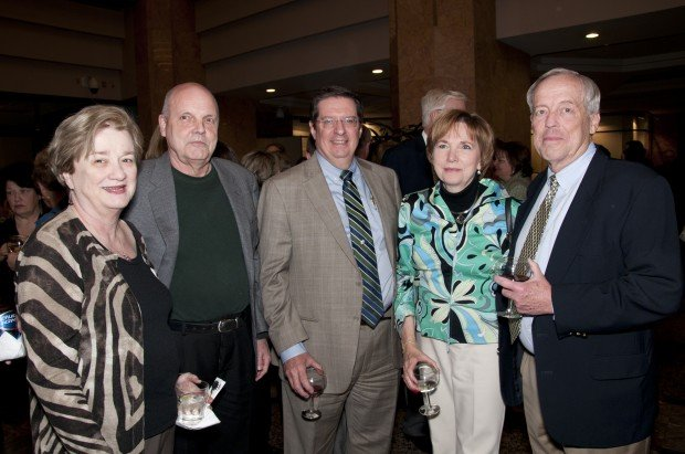 Kathy and Phil Wells, Bob Poelker, Janice and Richard Sturman