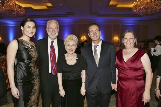 Elsa Klarich, Dr. Jay Pepose, Jan Klarich, Dr. Geoffrey Tabin, Susan Feigenbaum