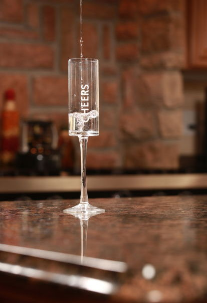 Savvy Surroundings Champagne flutes