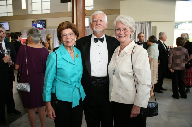 Harriet and Jim Switzer, Margaret Strom