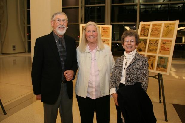 Lowell Hayman, Judy Cromwell, Susan Hayman