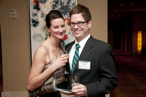 Kate and Dr. Brett Hronek
