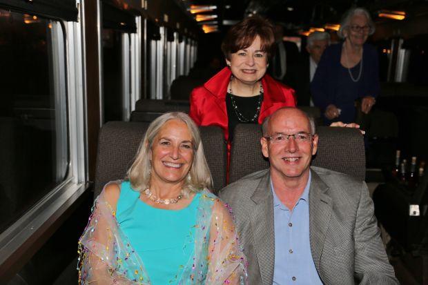 Carol and Ward Klein, Maxine Clark