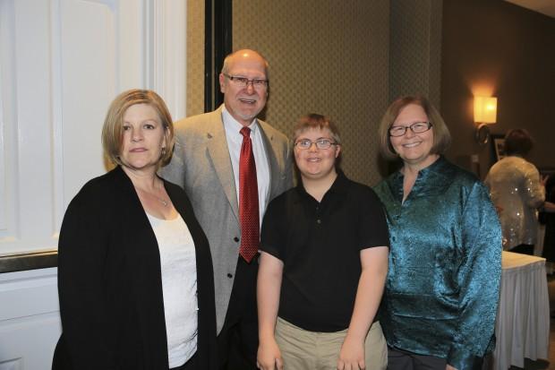 Jeanine Ponte, Dennis Wingertsahn, Michael and Linda Sieker