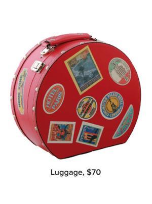 Luggage, $70