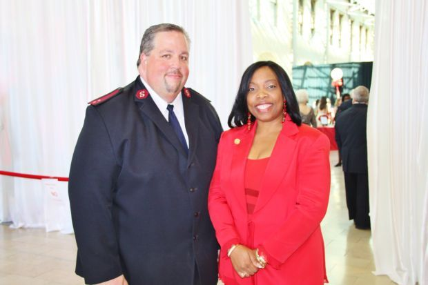 Captain Adam Moore, Dr. Shari Franklin (Event Chair)