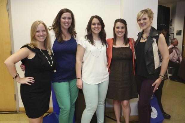 Karlee Gaubatz, Sara Anselment, Amye Ulrich, Liz Dieckhoff, Jessica Ulrich