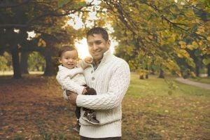 Nick Debnath and his son Sidney.jpg
