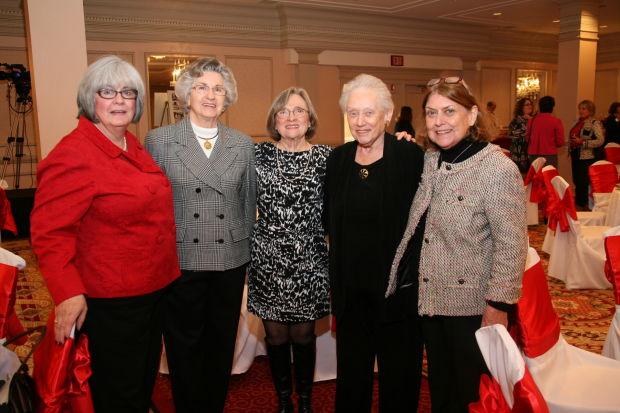 Jane Geer, Susanne Shepherd, Sandra Holmes, Marjorie McFarland, Jane McElwee