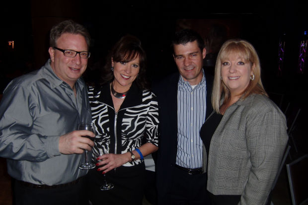 Todd Mandel, Bridgette Mineo, Ron Remiger and Sue Hites-Remiger