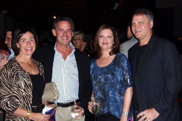 Susie Luten, Steve Frank, Kathy and Steve Becker