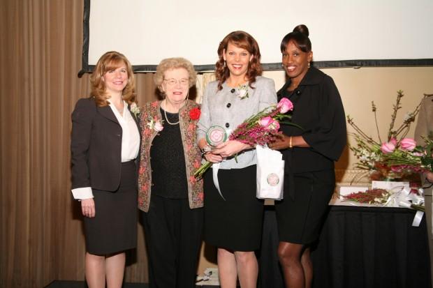 Mary Frontczak, Blanche Touhill, Kimberly Ritter, Jackie Joyner Kersee
