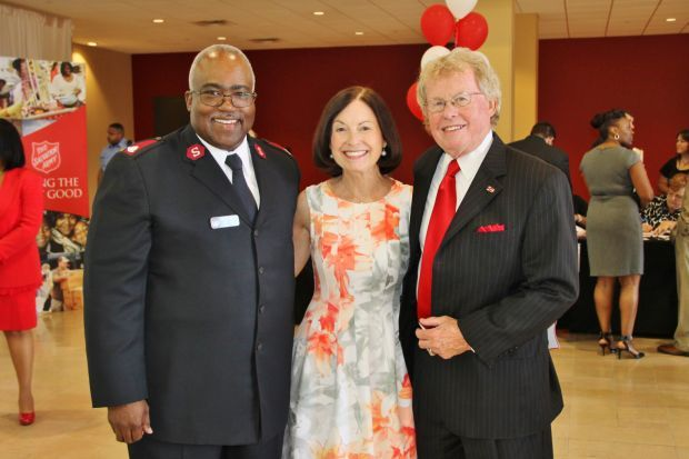 Major Lonneal Richardson, Mary Ellen Cotsworth, Bill Siedhoff