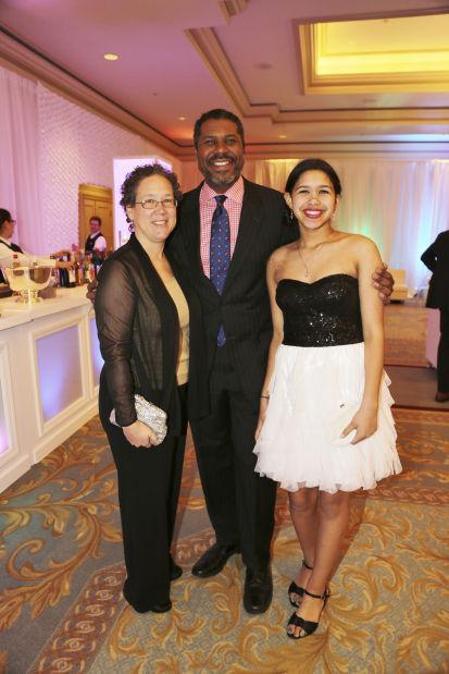 Maria, Gene Dobbs and Mireille Bradford