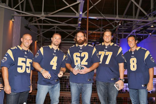 James Laurinaitis, Greg Zuerlein, Harvey Dahl, Jake Long, Sam Bradford