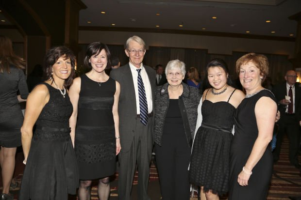 Mary Stroble, Beth Carver, Warren and Marnie Hauff, Anna Hayashi, Sue Hayashi