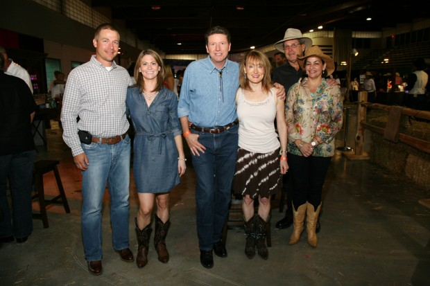 Travis and Jaime Aholt, Carson and Debi Coil, Dennis and Carolyn Plummer