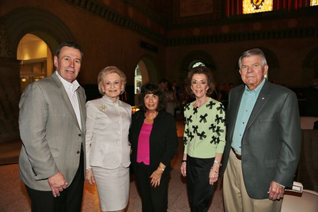 Frank Ikemeier, Joan Quicksilver, Mary Strauss, Peggy and Jerry Ritter