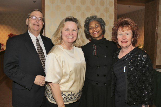 Rick and Donna Buehne, Gloria Ross, Claire Applewhite