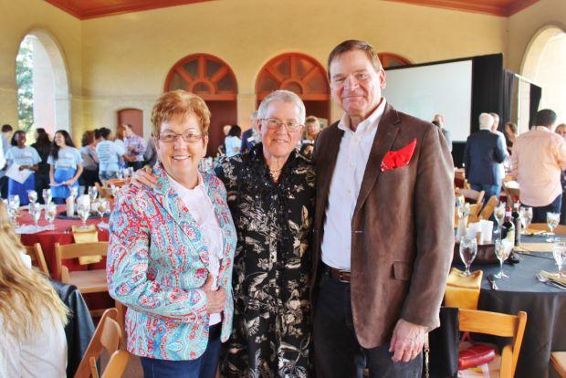 Dianne Garrison, Mary Rogers, George Garrison