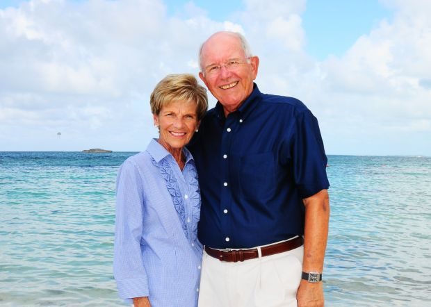 Jim and Sharon Eisenhart--50 years.JPG
