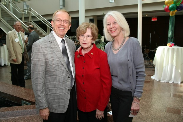 Ed Hillhouse, Margaret Carr, Leslie Canavan