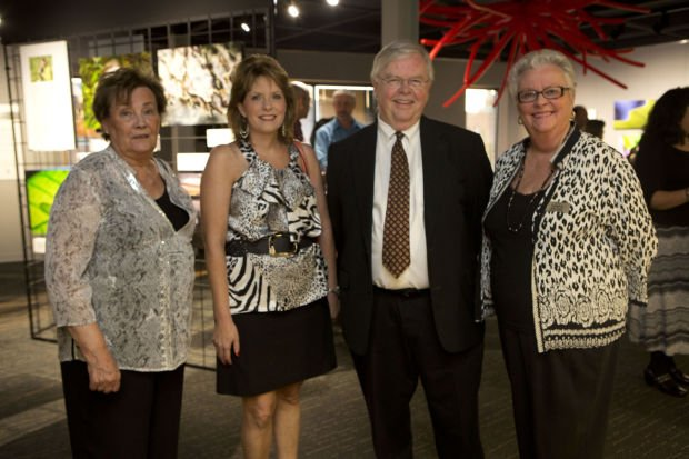 Joyce Rosen, Mary Hediger, John Wm Nagel, board member Kay Wood