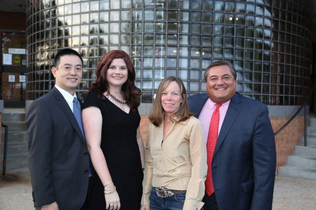 Nguyen and Leanne Violette, Catherine and Maurice Quiroga Foundation Board President