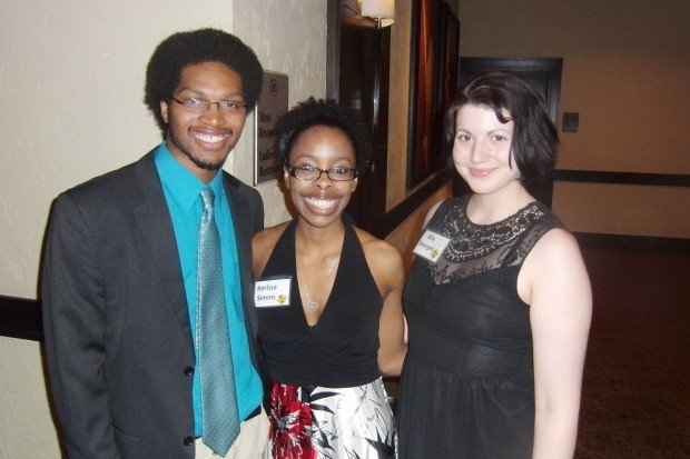 Micah Anderson, Kerissa Simms, Ali Georges