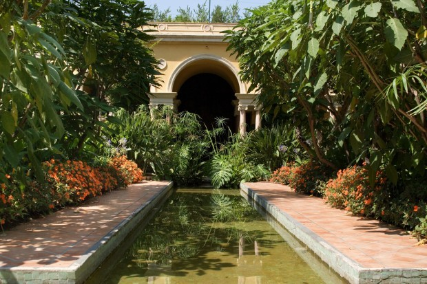 The Spanish garden 