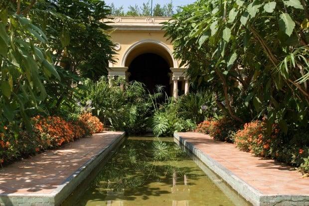 The Spanish garden
