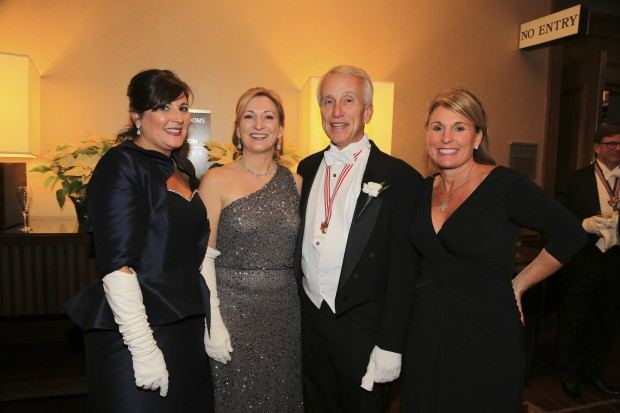 Laura McBride, Beth Lenke, Mayor Keith Krieg, Suzie Spence