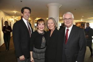 Lynn and Thriess Britton, Carol and Tom Voss