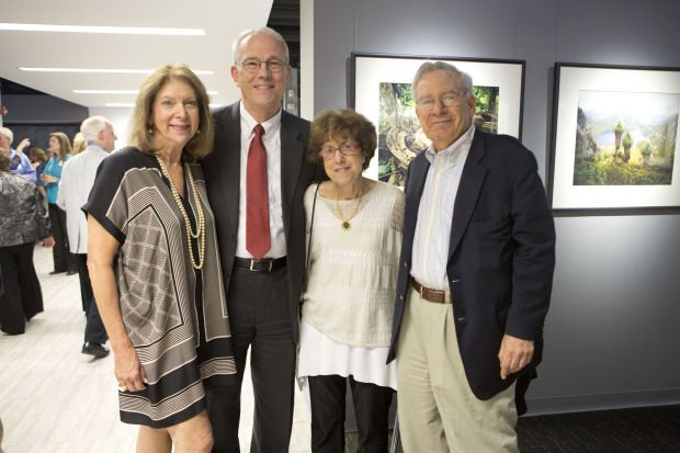 Phyllis Langsdorf, Paul Reuter, board member Karen Cotner, Ken Langsdorf