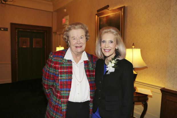 Blanche Touhill, Joan Berkman