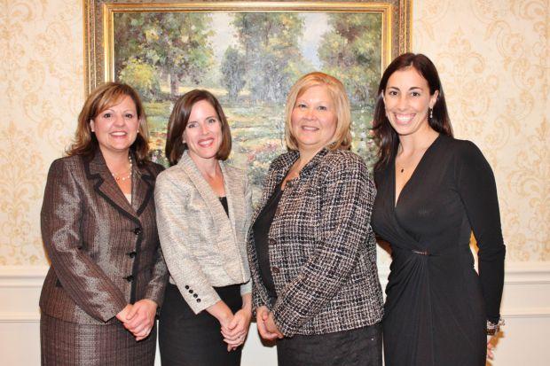 Tracy Cecil, Carrie Montrey, Glenda Knittel, Kelly Marino
