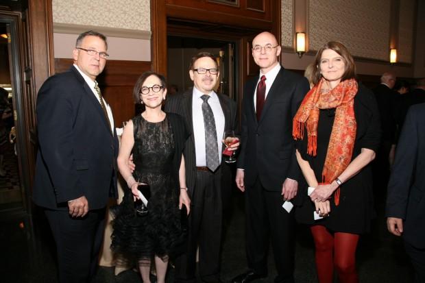 Jerry Silverman, Rita Numerof, Michael Abrams, Andrew Rehfeld, Miggie Greenberg