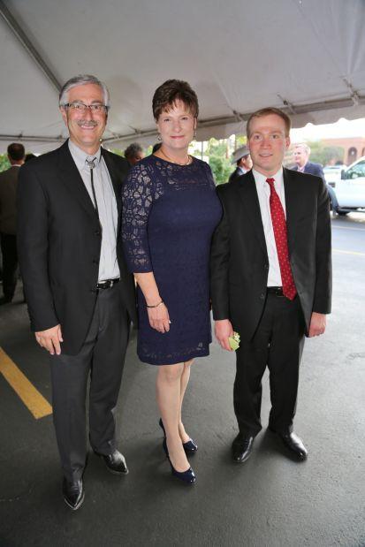 Mark Stacye, Debra Hollingsworth, Peter Neidorff