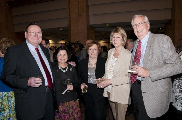 Don Moriarty, Lois Coleman, Rita Moriarty, Marilyn and Terry McCaffrey