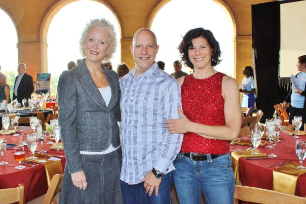 Kelly Jordan, David Pocost, Marianne Baer, (Co-Chairs of Event)