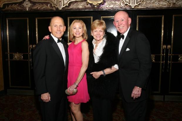 Allen Allred, Katherine Maxwell, Eileen and Julian Carr