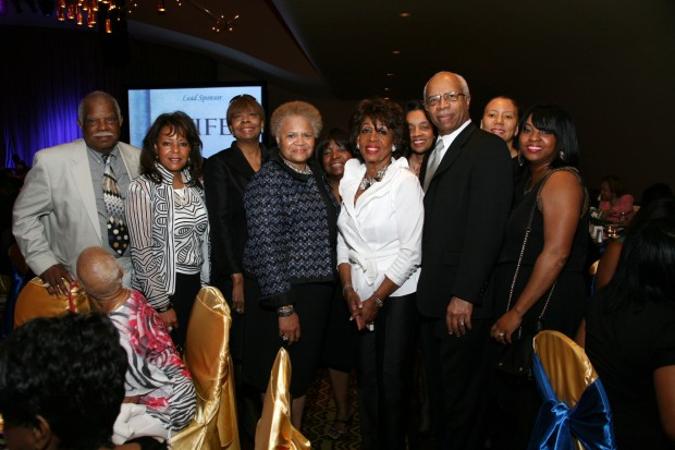 Leroy Wilson, Roselyn Kirkland, Kay Royster, Mary Thomas, Veria Williams, Maxine Waters, Barbara Dorsey, Dr. Jean Thomas Sr., Jacqueline Garrett, Lakesha Redding