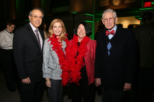 Dr. James and Nanci Bobrow, Linda Riekes, Bob Toff